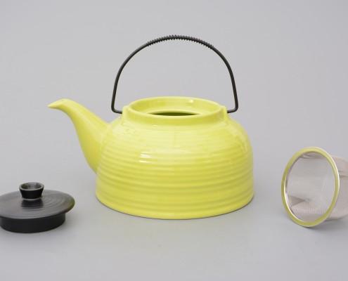 Teekanne aus Porzellan 1,5 Liter
