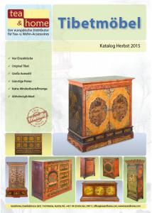 Katalog mit Asiatischem Geschirr und Asiatischen Figutren - Cover