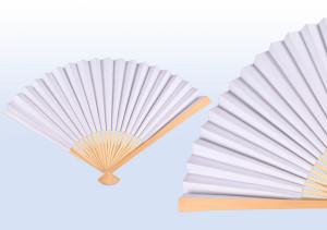 Handfächer aus Papier