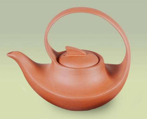 Teekanne aus Ton 550ml