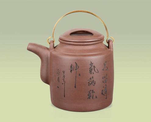 Teekanne aus Ton 1,3 Liter