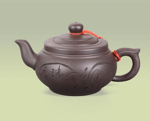 Teekanne aus Ton 400ml