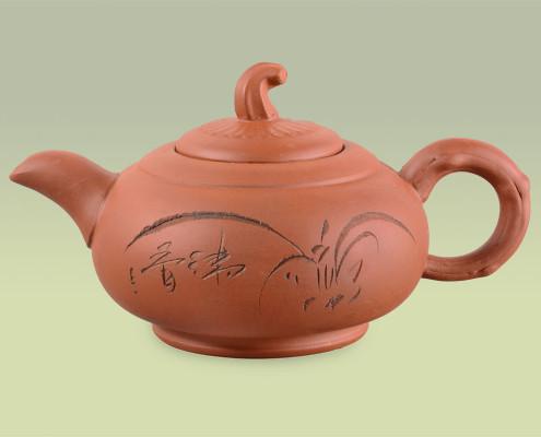 Teekanne aus Ton 450ml