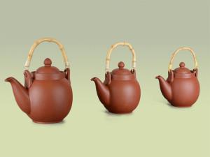 Teekannen aus Ton