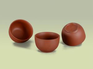 Teecups aus Ton