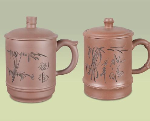 Teetassen aus Ton