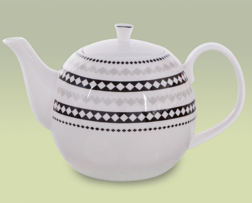 Teekanne aus Fine Bone China